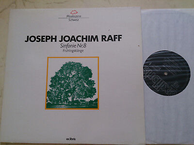 RAFF, JOSEPH JOACHIM Sinfonie Nr.8 Frühlingsklänge *SCHWEIZER VINYL*WIE NEU*
