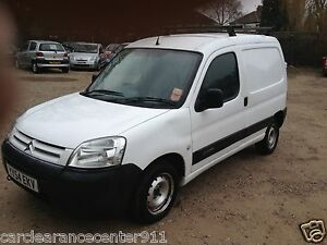 2004 CITROEN BERLINGO VAN 600D LX WHITE, 73000 GENUINE MILES