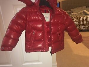 TODDLER MONCLER RED FOR SALE SIZE 2