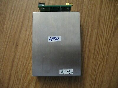 Symmetricom Lpro Rubidium Frequency Standard 10mhz And Interface Pcb Calibrated