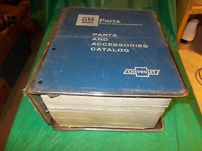 1976-81 BUICK ORIGINAL PARTS & BODY CATALOG WITH ILLUSTRATION CATALOG IN BINDER!