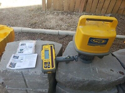 Laser Level Construction Tools Spectra Precision Ll 500 Rotary Laser W Case