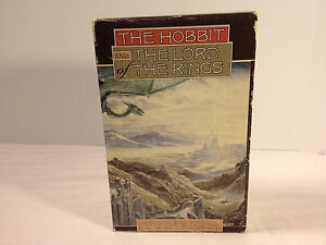 Vintage-Lord-of-the-Rings-Hobbit-Boxed-Set-J-R-R-Tolkien-Books-Slipcover-Rare