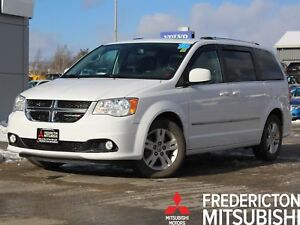 2015 Dodge Grand Caravan Crew HEATED LEATHER | BACK UP CAM |...