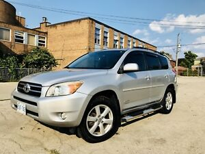 Toyota Rav4 2007 4WD, SILVER, Limited Edition, Made in Japan.