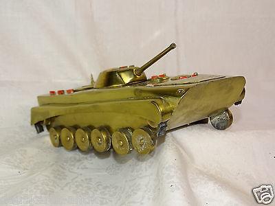 BMP Motschützen Panzer Modell NVA Kabinett Metall Deko DDR BMP