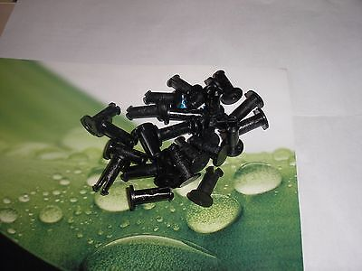 25 New Neptune Water Meter Register Locking Pins Plastic T-10 Lot Of 25