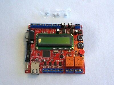 Microchip Pic Ethernetwebserver Board 2 Relays 16 Inputs