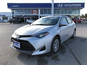 2018 Toyota Corolla LE Auto - Only 5,041kms!