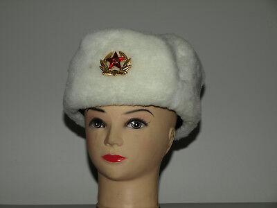 Wintermütze  Russland  Gr. 58-61  Winterkleidung  Schapka  DDR Fasching Karneval
