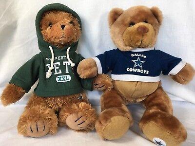 Dallas Cowboys or NY Jets Plush Bear Good Stuff Brand NFL Officially - Cowboy Stuff