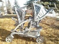 Graco double stroller duo glider