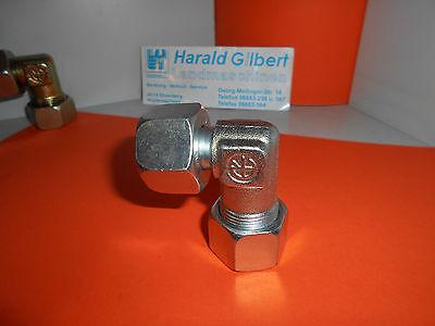 Einstellbare Winkelverschraubung Hydraulik 15 L