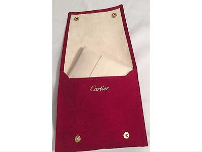 Cartier Travel Pouch Case With Pillow