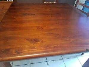 Dining Table Solid Timber 1500 x 1500
