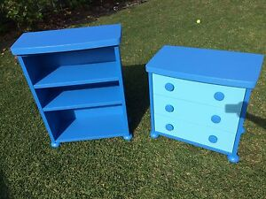 Kids Bedroom Furniture - Ikea Mammut draws and bookcase Beverley Park Kogarah Area Preview