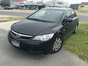 2008 Honda Civic VTi RWC REGO Brighton Brisbane North East Preview
