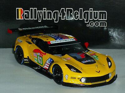 1/43 Spark Corvette C7.R #63 Le Mans 2019 Magnussen Rockenfeller Garcia S7928