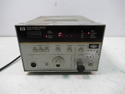 Hewlett Packard Hp 436a Power Meter Benchtop Laboratory Device