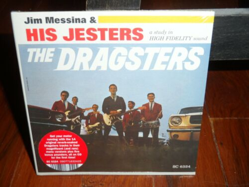Jim Messina & His Jesters - The Dragsters CD Brand New 2021 RSD