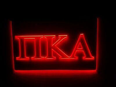Kappa Alpha Letter (Pi Kappa Alpha - LED Sign - Greek Letter Fraternity -)
