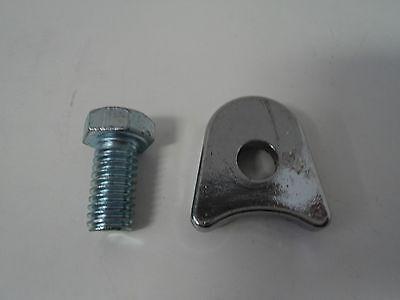 Chrome Distributor Hold Down Clamp - Chrome Ford Distributor Hold Down Clamp 289 302 351W 351C 400 429 460 Mustang