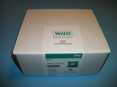 Boiler Control Panel - WILO WZC-4 BOILER HYDRONIC 4 ZONE CONTROL SWITCHING RELAY PANEL 2714024  SR504