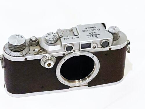 1936 Leica IIIa camera body