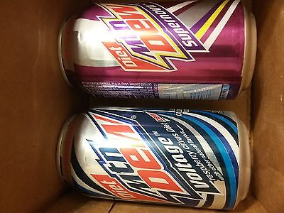 mtn dew diet voltage and supernova mountain rare can cans