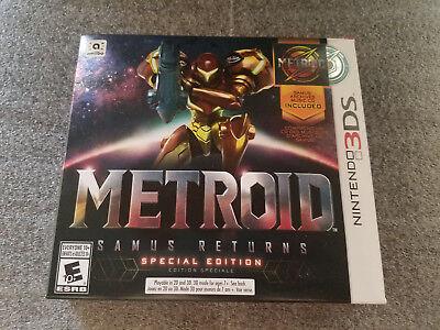 Metroid  Samus Returns Special Edition  Nintendo 3Ds  Brand New