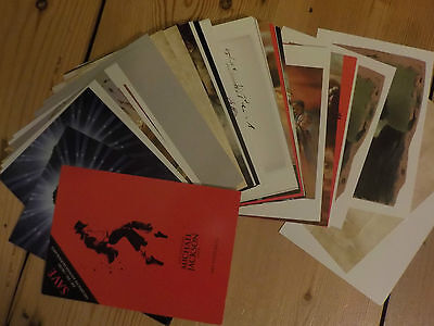 Michael Jackson The Official Opus Art Postcards New and Rare
