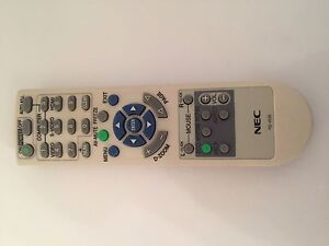NEC PROJECTOR REMOTE CONTROL FOR 200&300 SERIES.PLUS SEE LISTING.