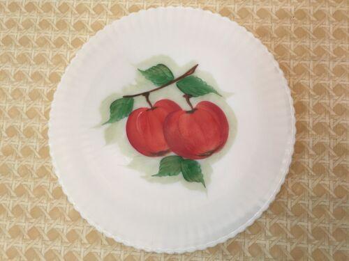 MacBeth Evans Petalware Apple Motif Monax Salver Serving Plate