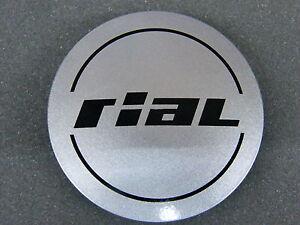 Original RIAL Nabenkappe 56 mm 60 mm silber N 23 Nabendeckel Felgenkappe N23