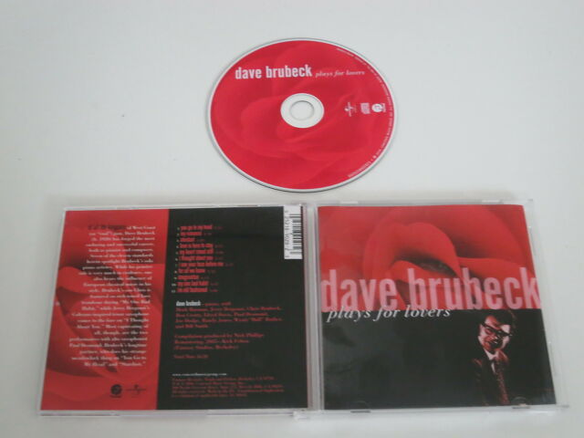 DAVE BRUBECK/PLAYS FOR LOVERS(FANTASY 0025218902823) CD ALBUM