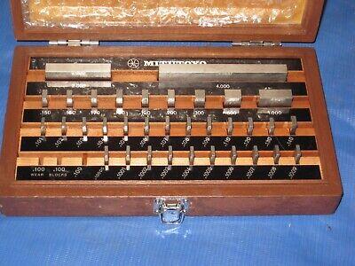 Mitutoyo 516-915 Gage Block Set - Be1-35-3 Grade 3