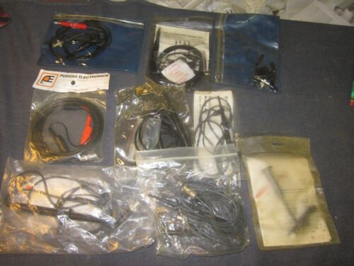 AK-220 Oscilloscope Probe AND OTHERS LOT ASSORTED SOME NOS