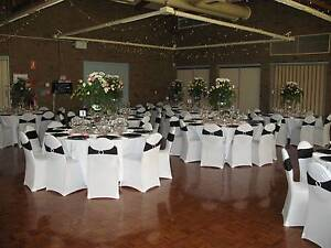 White Chair Covers & Band Sashes for Hire McLaren Vale Morphett Vale Area Preview
