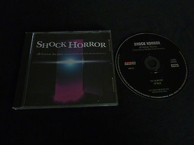 SHOCK HORROR ALL HORROR THEMES RARE CD! HALLOWEEN THE FLY PSYCHO POLTERGEIST  - All Halloween Themes