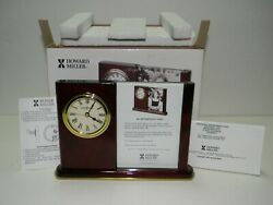 Howard Miller 645-498 Portrait Caddy Table Clock In Original Box & Instructions