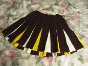 Gold Cheerleader Uniform
