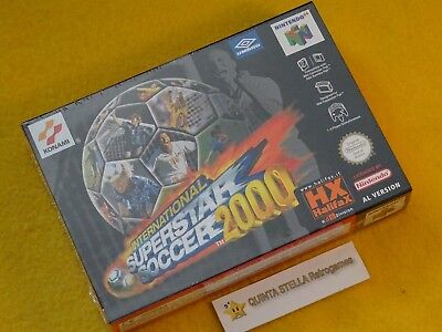 INTERNATIONAL SUPERSTAR SOCCER 2000 NINTENDO 64 N64 PAL ITA FRA NUOVO NEUF ISS