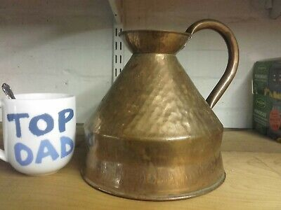 Old English copper Jug