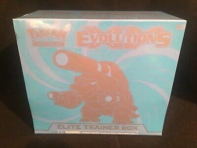 Pokemon XY Evolutions Elite Trainer Box - Mega Blastoise