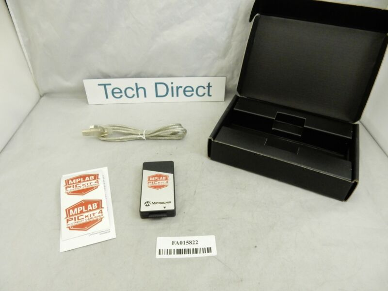 Microchip PG164140 MPLAB PICkit 4 In-Circuit Debugger programmer ZZ