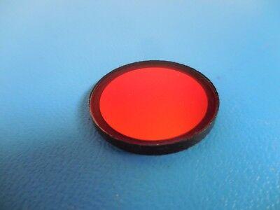 Long Pass Red Filter 25mm Diameter X 2mm Thickness