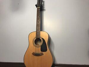12 String Fender Acoustic Guitar