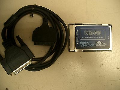 Audio Precision PCM-WIN PCMCIA interface card for System One & Two under APWIN