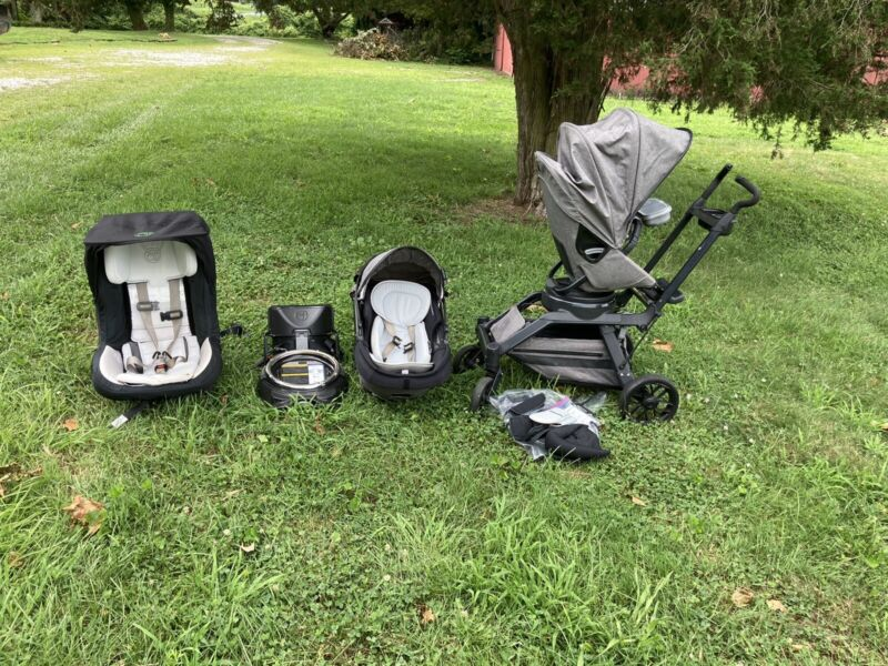 ORBIT BABY G3 TRAVEL SYSTEM Includes Infant Car Seat, Toddler Car Seat, Stroller