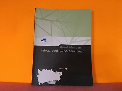 Ifr 46891893 Great Ideas In Advanced Wireless Test Catalog